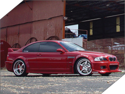 '01 BMW E46 M3 Wide Body