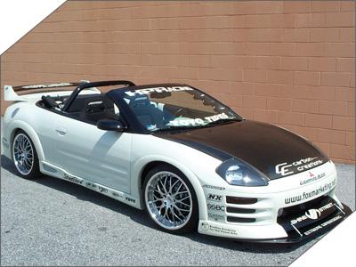 01 Mitsubishi Eclipse Spyder GT